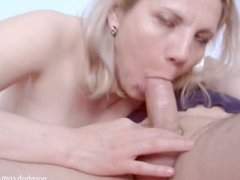 Real Home Blonde Blowjob