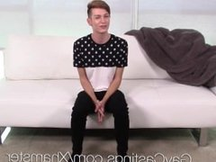 gaycastings young twink lenox huge facial by amateur