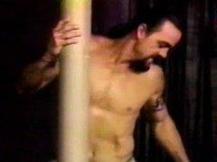 Stripper in scrubs