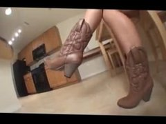 Cowgirl Foot Goddess