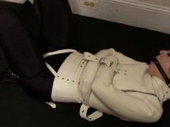 Sexy Latex Straitjacket Bondage