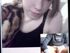 Dutch girl likes wanker and shows off 7