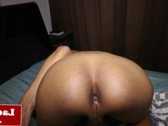 Asian amateur tgirl with pigtails analplays