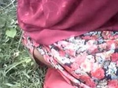 Desi Girl Shows Her Tits and Pussy in Forest