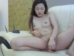 asian angel masturbates on webcam 30