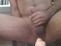 Dildo Fuck and Cum