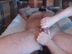 Me milk ballplay hung bull