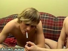 Black twink cumshot xxx Euro smokers Jerry and Sonny smoke nearly a pack!