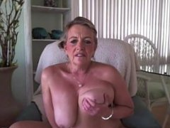Florida busty old mom Jackie Stone with a juicy butt