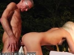 Angry blonde first time Old John rock-hard tear up youthfull Anastaisa