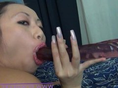 Hot Asian Amateur PornbabeTyra tease and denial