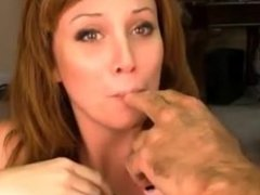 Cute girl gets deep thro - for all horny videos visit my account