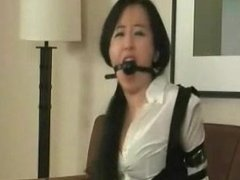 Oriental Strapped & Gagged