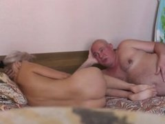 naughty-hotties.net - Fat Old Man and Pretty Blond