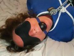 Girl Locked Up in Spandex