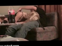 Real Amateur Blonde Mom Fucked In Both Holes