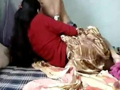 Beautiful indian girlfriend homemade sex