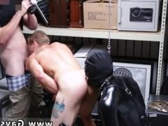 A gay blowjobs Dungeon tormentor with a gimp