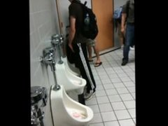 tall hung piss