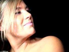Blonde Lara Leighton Giving Free Blowjobs