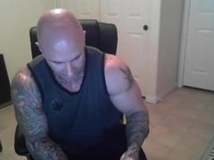 cam tattoo bodybuilder