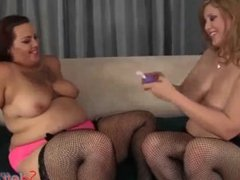 Horny Plumpers Angel and Phoenixxx Hot Lesbian