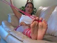 Lexi Lapetina Toe-Tied Tickling