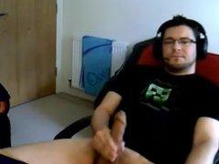 Big Uncut Cock Webcam Cum