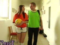 Teen stockings masturbation dildo first time Dutch football player