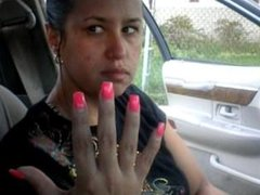 Jodi Samples Pink Toenails