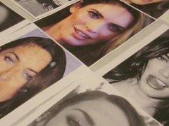 Cumshot Tribute: Megan Fox Slow Motion