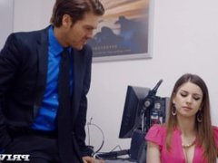 Busty Office Slut Stella Cox Gets Nailed By Her Boss