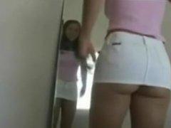 Hot Teen Trying on Clothes www.majinbuu80.tk Clothes