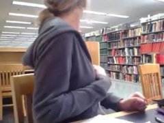 Hot Oregon State Girl Masturbates in Library