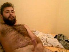 Masturbating Turkey-Turkish Hairy Cub Serdar