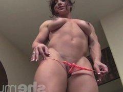 Muscular Brandimae Naked and Powerful