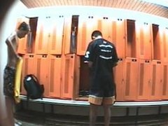 changing locker room