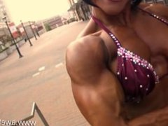 muscle girl l12