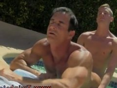 S fucking males gay first time Daddy Poolside Prick Loving