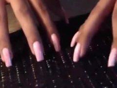 Long Nails Tease