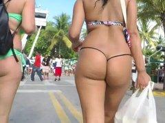 Bg Booty in G String Bikini