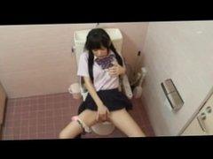 Japan. Schoolgirls wet masturbation 2