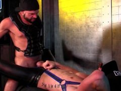 Dallas Steele and Diesel Washington in Interracial Rubber Fetish Fuck
