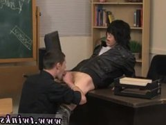 Video young men gay sex 1st experience It's time for detention and Nate
