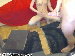 2 amateur teen couples webcam show