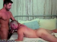 Gay bis porn free He's hard and wanking off when Dominic arrives, and