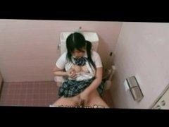 Japan. Schoolgirl wet masturbation 5