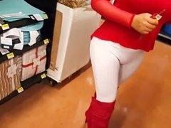 White leggings at Walmart