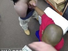 Gay black on white cock suck movies Desperate man does anything for money