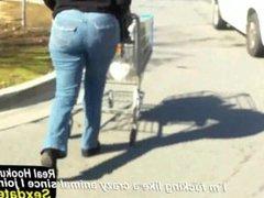 Ebony MILF Bubble Booty Jeans Fetish